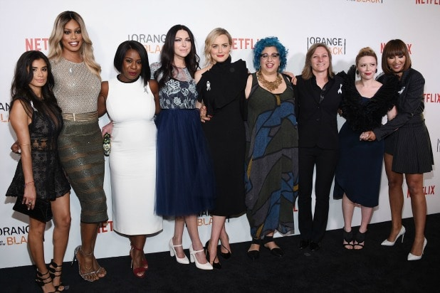 f5ae4bd72667 Orange Is the New Black  Cast Hit the Red Carpet for Season 4 ...
