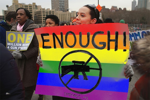 gays guns gun control post orlando mass shootings