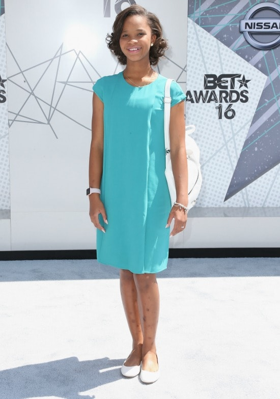 quvenzhane wallis 2016 bet awards