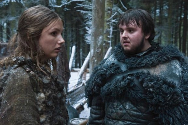sam and gilly game of thrones