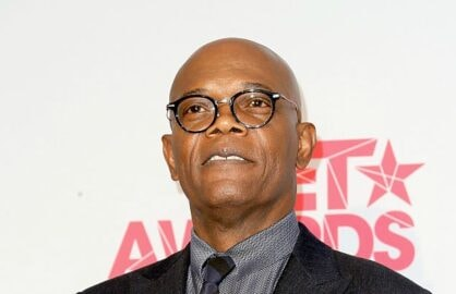 Samuel L Jackson at BET Awards press room