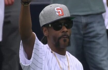 snoop dogg first pitch