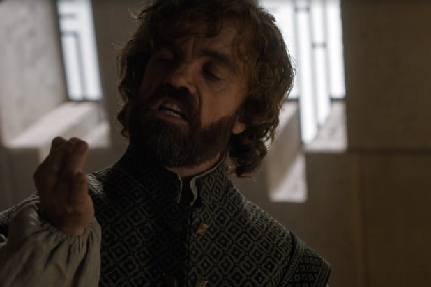 tyrion joke game of thrones spit it out wee shit