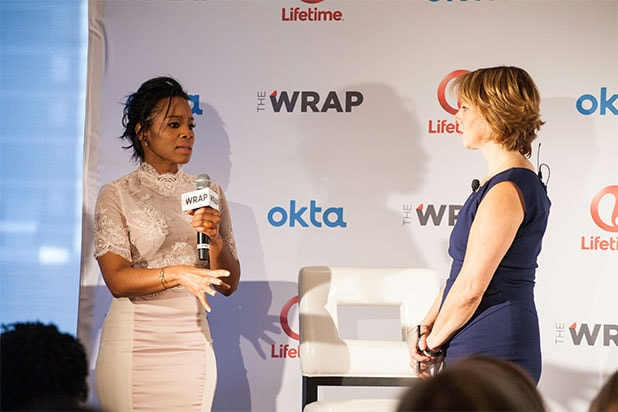 Anika Noni Rose Wrap Power Women Breakfast NYC