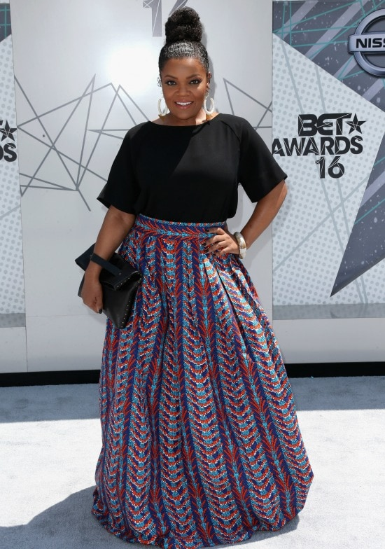 yvette nicole brown 2016 bet awards