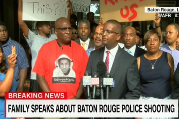 Alton Sterling news conference