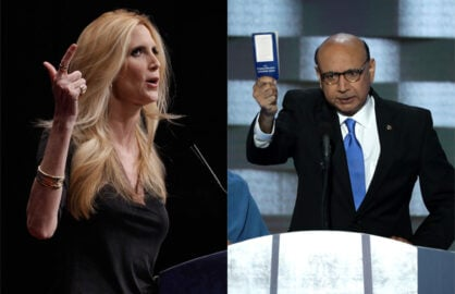 Ann Coulter, Khizr Khan
