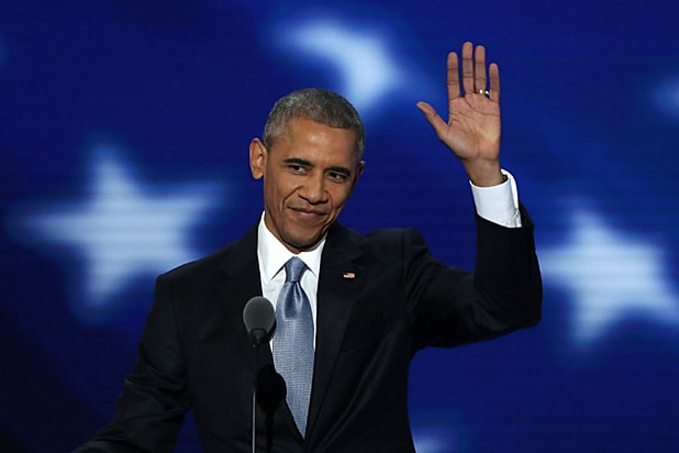 Barack Obama at Democratic Convention