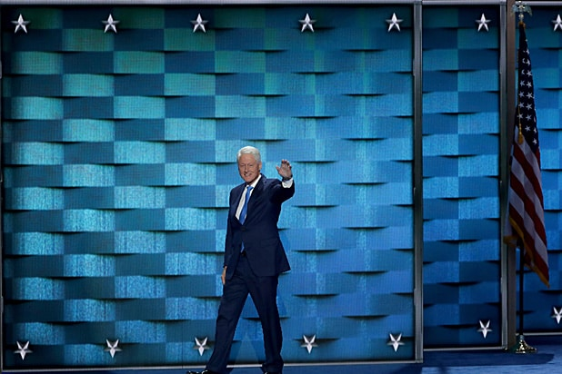 Bill Clinton Democratic Convention