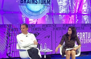 Bob Iger and Fortune writer Michal Bar Lev on Brainstorm Panel