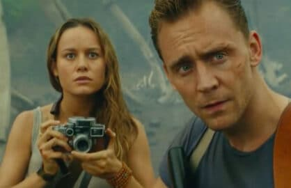 Brie Larson Tom Hiddleston Kong Skull Island