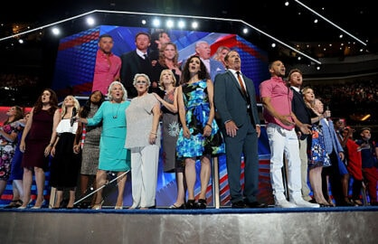 Broadway Stars at Democratic Covention