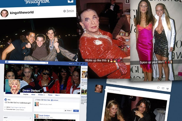 Social Media Time Machine '90s stars