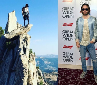 """Jared Leto and Budweiser teamed up on an extreme rock climbing documentary series """"Great Wide Open"""". Inside the world premiere on Tuesday, July 19, 2016 in West Hollywood, CA."""
