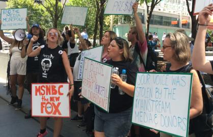 Comcast DNC protest