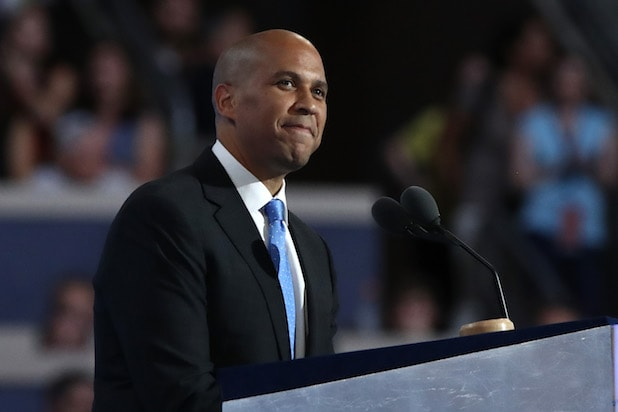 Cory Booker Democratic National Convention: Day One