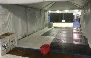 DNC rain