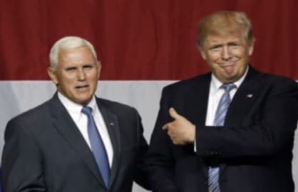 Donald Trump Mike Pence