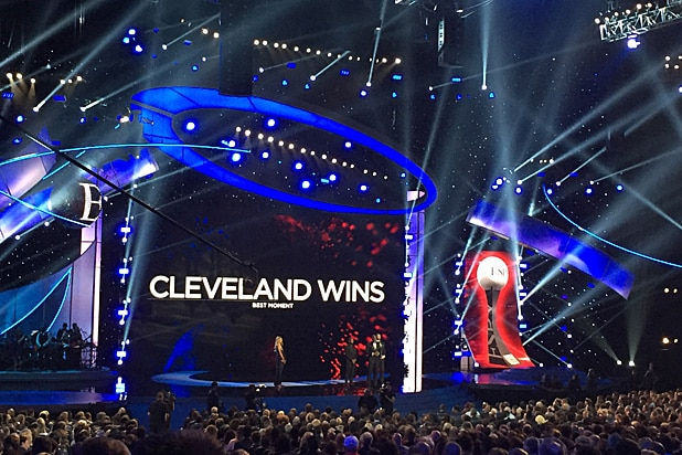 ESPYs Cleveland Wins