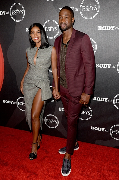 Gabrielle Union and Dwyane Wade Body Issue