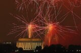 Fourth Of July Celebrated With Fireworks Over Washington DC