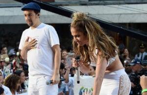 Jennifer Lopez and Lin Manuel Miranda Perform On NBCs Today