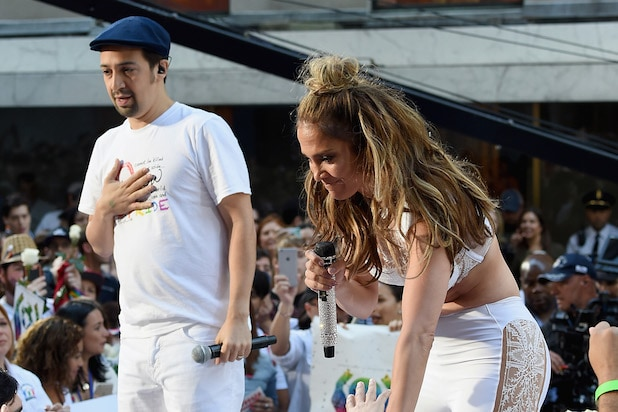Jennifer Lopez and Lin Manuel Miranda Perform On NBCs Today