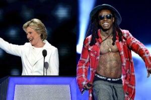 Hillary Clinton Lil Wayne