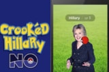Hillary No Pokemon GO