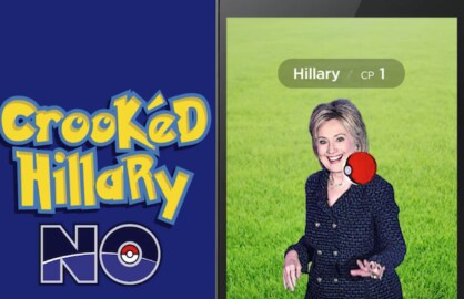 Hillary No Pokemon GO