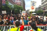 Republican National Convention Kicks Off With Dueling Protests RNC Gop