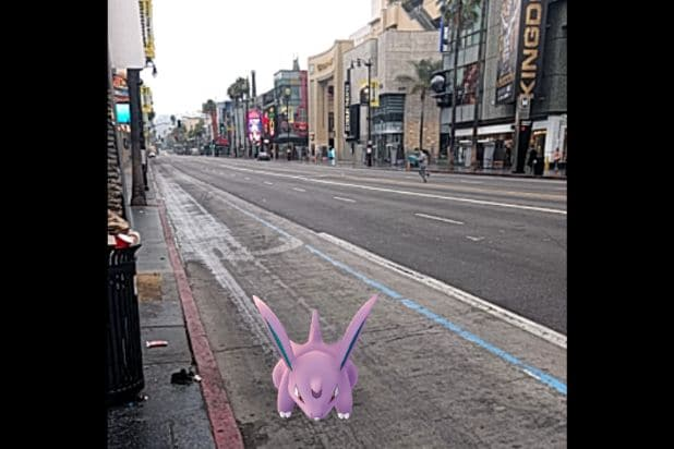 pokemon go hollywood