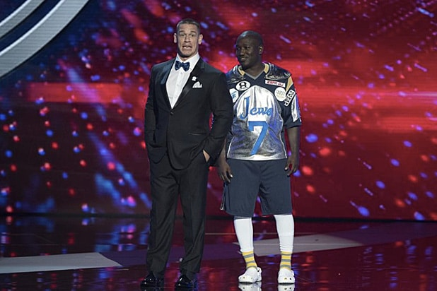 John Cena and Hannibal Buress ESPYs