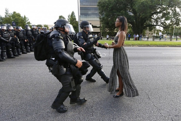 Iconic pic by Jonathan Bachman Reuters