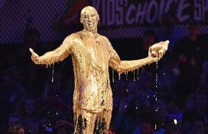 Kobe Bryant gold slime Nickelodeon Kids' Choice Sports Awards
