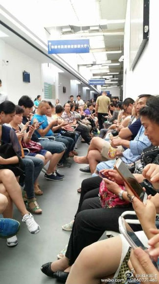 Kuailu investors at Shanghai Government Complaints office