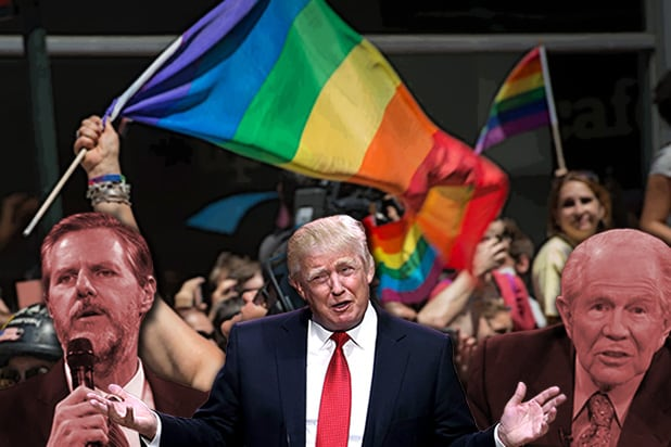 Gay Republicans: Trump Is 'Pro-Gay,' Platform Not So Much