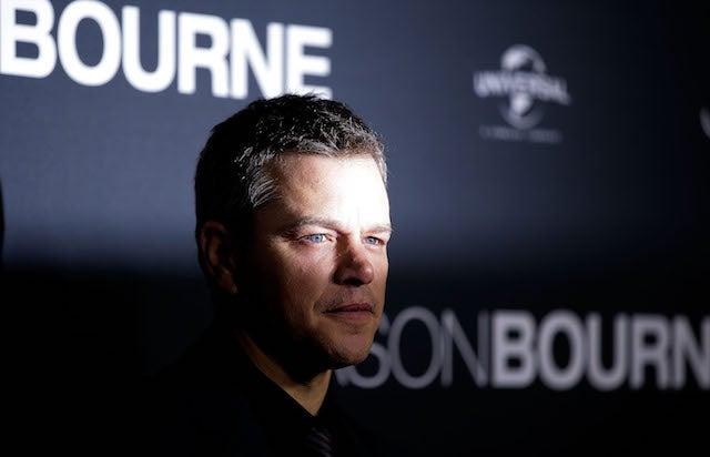 Jason Bourne Matt Damon