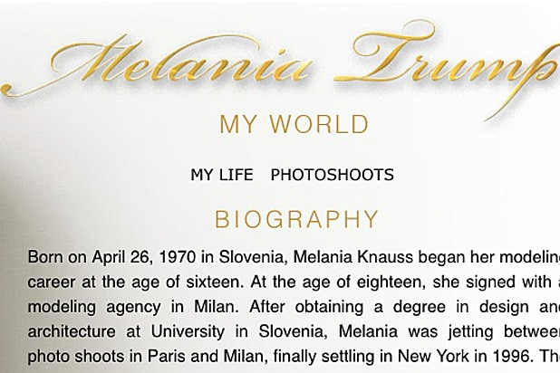 Melania Trump Biography copy