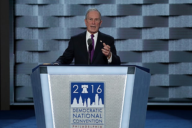Michael Bloomberg Democratic Convention