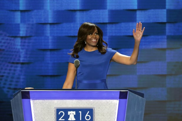 Michelle Obama Democratic National Convention: Day One