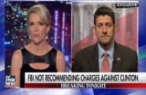 Paul Ryan on Megyn Kelly