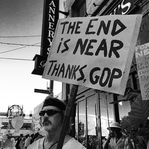 Republican National Convention Protester