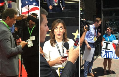 RNC media: CNN, NBC News, The Daily Show