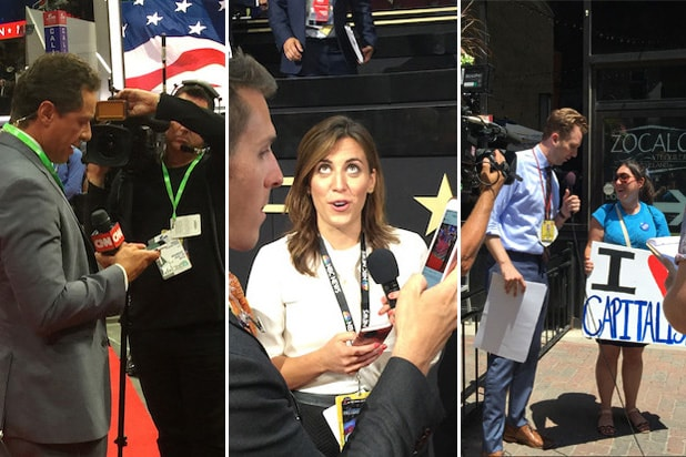 RNC media: CNN, NBC News, The Daily Show