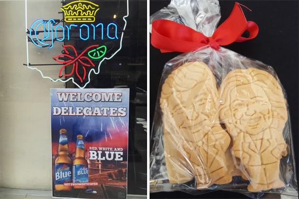 RNC swag (cookies + beer)