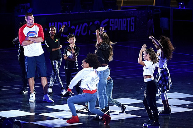 Rob Gronkowski and Ciara Nickelodeon Kids' Choice Sports Awards