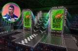 Russell Wilson and Nickelodeon Kids Choice Sports Stage