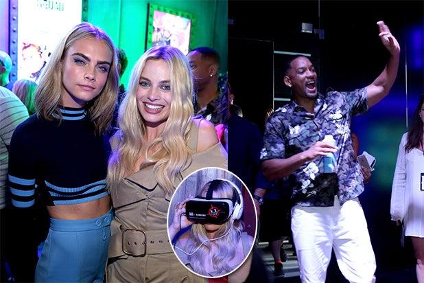 Samsung Gear VR - Cara DelaVigne, Margot Robbie, Will Smith