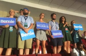 Sanders Supporters